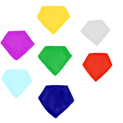 Chaos Emeralds by WhiteRose1994