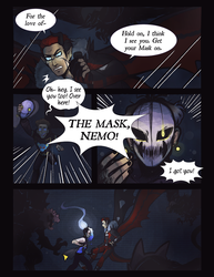 P-NO: Light in the Dark PG2 by RosariaBec