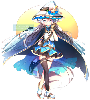 [Com] Constellation Witch + SPEEDPAINT by Miruukii-hime