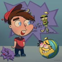 Timmy Turner Rugrat by Chayemor