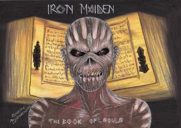 Iron Maiden The Book Of Souls by ChristinePresley