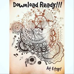 Download Ready Coloring Page by Eveint