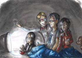 Hannibal - Watching Doctor Who by FuriarossaAndMimma