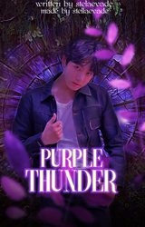Purple Thunder / Wattpad Book Cover 34 by sahlimamat