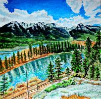 Banff-National-Park-Canadian-Pacific-Railway (2) by KingVahagn
