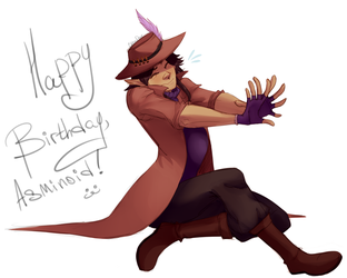 Happy Birthday, Asminoid! by ChibaDeer