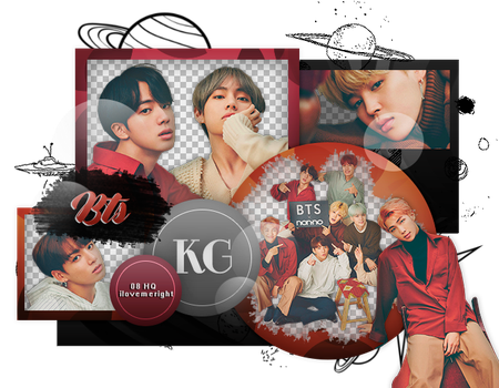 BTS|PACK PNG by KoreanGallery