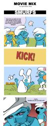 SMURFS by supercluster-hong