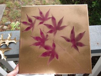 Maroon Leaves Try 1 by Mistress-of-Emotions