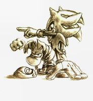 Shadow and Rayman by Clearleaf-Forest