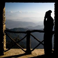 At the Edge of the World by AbhaySingh1