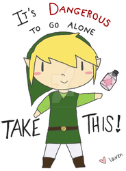 IT'S DANGEROUS TO GO ALONE by SpasticalSyndrome
