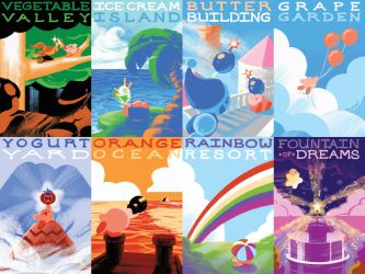 Postcards from Dreamland by Jupeboxgal