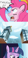 Pinkie D Pie at Enies Lobby 2 by Ziemniax