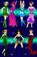 Seven Dresses by JTPepper09