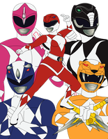 Power Rangers 1969 by RiderB0y