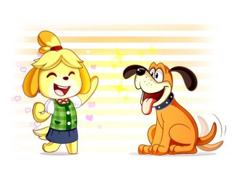 Doggie Friends by LucarioOcarina