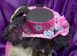Pink Flowered Hat 3 by MorganCrone