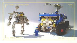 LEGO Neo Classic Space squad by HorcikDesigns