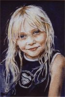 Golden Locks - Watercolour by AstridBruning