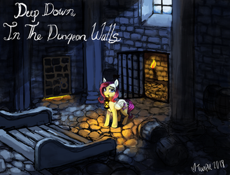 Deep Down, In the Dungeon Walls cover by MissTwiPieTwins