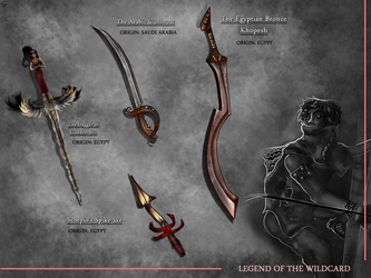 Akim's Weapons Design by AndreeaLupsaNL