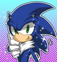 Sonic the Fur-Hedgehog by Captain-Tot