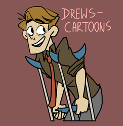 Drew's-cartoons Joey by Halfus