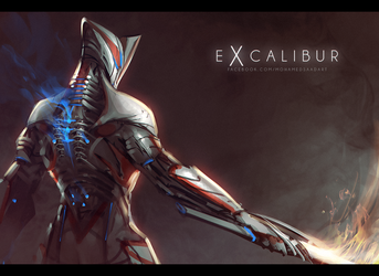 Excalibur Sketch by TheFearMaster