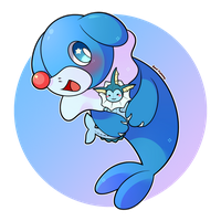 COMMISSION: Chibi Popplio by SeviYummy
