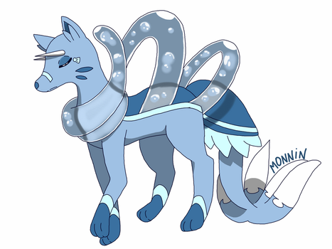Fakemon : No name by Phosphophyllite