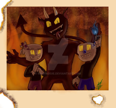 One Big Happy Family (Bad Ending) by Ms-Maggie