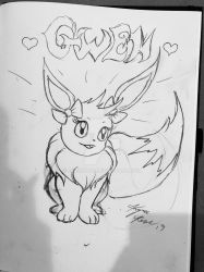 My Eevee Gwendolyn  by Enerdyte