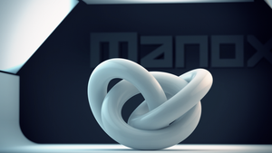 3d Object Manox by manoxdesigns