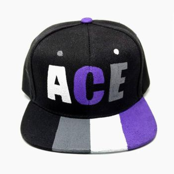 Asexual Snapback by queerestgear