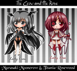The Crow and the Rose by LordNobleheart