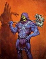 Skeletor - Jean Francois Beaulieu colors by SpiderGuile