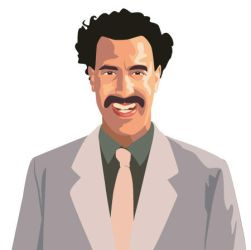 Borat Sagdiyev by monstara