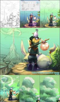 Color scheme n Cloud Tutorial by ethe