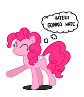 Haters Gonna Hate gif colour by tmanofctown