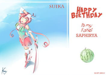 B-Day Gift Saphirya by kinary
