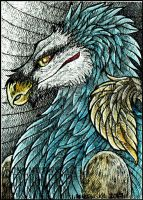 ACEO JaWolf by LadyFromEast