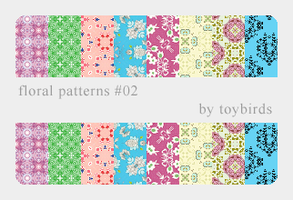 Floral Patterns 02 by toybirds