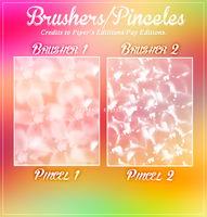 Brushers/Pinceles by PayEditions