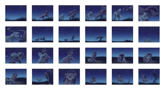 The dream -storyboard 1- by hibbary