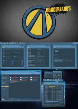 Borderlands theme for Windows 7 by yorgash