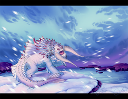 Bewilderbeast, the King of Dragons by DaffoDille