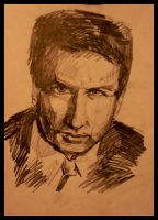 X-files Mulder by TioUsui