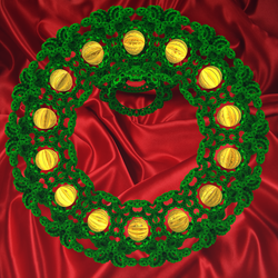 Holiday Wreath by krompulos