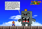 The Thwomp King by BeeWinter55